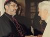Eu com o Papa Bento