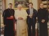 Nós três com o Papa