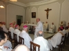 Na Missa, no Pio Brasileiro, fala o Reitor, Pe. João Roque Rohr