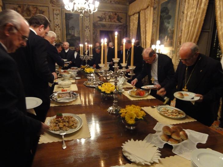 Jantar muito bom: Com simplicidade e muito boa conversa, agradou a todos
