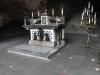 O altar original: Este altar ficava em Lourdes, na França. Foi dado ao Papa João XXIII