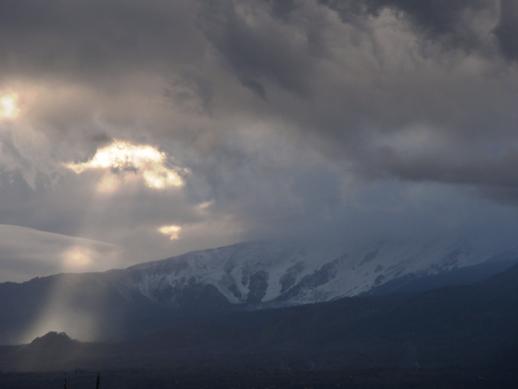 Taormina - Neve no Etna