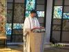 Dom J Bosco na missa de Ação de Graças