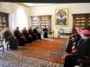 Um grupo com o Papa